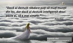Un gand care sa va dea de gandit ! Boris Vian, True Words, Inspirational Quotes, Movie Posters, Life, Life Coach Quotes, Inspiring Quotes, Film Poster, Quotes Inspirational
