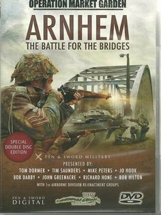 Arnhem - The Battle for the Bridges DVD only Operation Market Garden, 101st Airborne Division, Forever Book, Man Of War, War Film, History Online, Military History, Nonfiction Books, Books