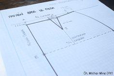 Aprender a coser faldas parte 1: Cómo hacer un patrón base de falda
