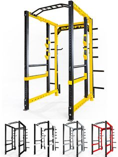 elitefts™ Collegiate Power Rack Here it is. The elitefts™ Collegiate Power Rack is the toughest rack you've ever seen! Trx Gym, Crossfit Home Gym, At Home Gym, Home Gym Equipment, Training Equipment, No Equipment Workout, Fitness Equipment, Power Rack, Gym Setup