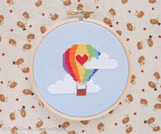 This is a Counted Cross Stitch PATTERN only - no fabric or floss is included in this purchase. It is designed for beginners and uses only whole stitches and minimal backstitch. Please dont hesitate to contact me if you experience any difficulty understanding the pattern or
