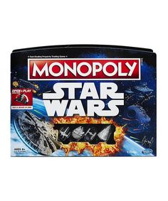 Hasbro Star Wars Monopoly Open & Play Board Game | zulily
