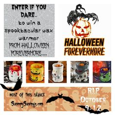 DebsHere: Halloween Forevermore FLASH Giveaway!  10/12