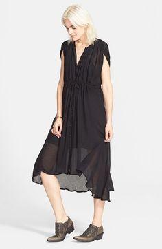 Free People 'Sweet Talk' Maxi Dress #freepeople #black #boho #dress #fashion