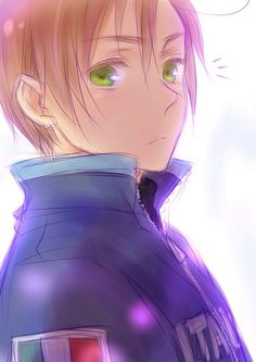 Hetalia (ヘタリア) - Romano/South Italy (ロマーノ) He is the one I wanna marry but we can't all have good things~