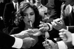 Monica #Bellucci in Malena de Giuseppe Tornatore, 2001 #black and white photography