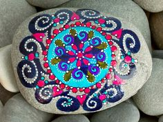 Painted Rock / Shift in Consciousness / Sandi Pike Foundas / Cape Cod