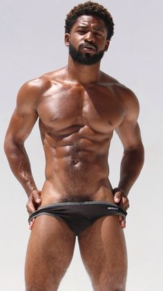Sexy...natural man...NO TATS to cover up that sexiness!!!