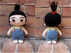Crochet Patterns Free Amigurumi Disney Despicable Me 21 Best Ideas Crochet Unicorn Pattern, Crochet Amigurumi Free Patterns, Crochet Toys, Crochet Minions, Cute Crochet, Crochet For Kids, Agnes Despicable Me, Crochet Disney, Stuffed Toys Patterns