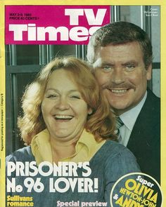 Tv times in 1980 Tv Times, 30th Anniversary, Prisoner, Tv Series, Pin Up, It Cast, Romance, Couple Photos, Cover