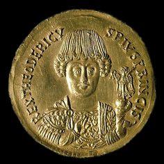 Teodorico, o Grande, rei dos ostrogodos (de 474–526), rei da Itália (493–526) e regente dos visigodos (511–526).
