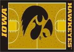 University of Iowa Basketball Court Runner