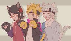 Find images and videos about anime, naruto and boruto on We Heart It - the app to get lost in what you love. Naruto Uzumaki, Anime Naruto, Naruto Gaiden, Boruto And Sarada, Naruto Fan Art, Anime Manga, Hinata, Team Konohamaru, Boruto Next Generation