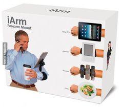 I need this iArm!