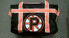 Custom bag for P.E.A.C. School @gitchsw Facebook - Gitch Sportswear Hockey Bags, Custom Bags, Coach Bags, Messenger Bag, Diaper Bag, Sportswear, Facebook, School, Mothers Bag