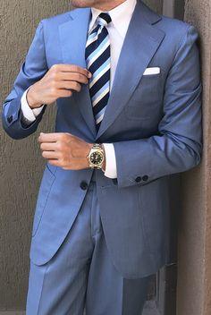 men s suits sale Mens Fashion Casual Shoes, Sneakers Fashion Outfits, Mens Fashion Suits, Mens Suits, Man Fashion, Mens Light Blue Suit, Mens Dress Outfits, Suit Combinations, Designer Suits For Men