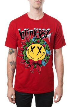 Smiley Wreath from Blink-182 Merch