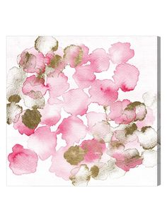 Pretty In Pink Bouquet (Canvas)