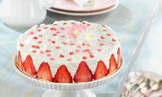 Tarta de Yogur con fresas