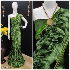 Sarees CLassy women saree Saree Fabric: Lycra Blouse: Running Blouse Blouse Fabric: Lycra Pattern: Printed Multipack: Single Sizes:  Free Size (Saree with running blouse length size :6.03mtr) Country of Origin: India Sizes Available: Free Size   Catalog Rating: ★4 (427)  Catalog Name: Kashvi Ensemble Sarees CatalogID_1106257 C74-SC1004 Code: 745-6928253-5931