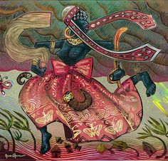 Oya art by André Hora