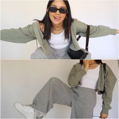 Retro Outfits, Trendy Outfits, Cute Outfits, Fashion Outfits, Aesthetic Women, Aesthetic Clothes, Ootd Poses, Casual Street Style, Casual Looks