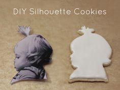 DIY Silhouette Cookies
