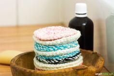 Abschminken, waschen, wiederverwenden - Mit dieser Anleitung für selbst gehäkelte Kosmetikpads schaffst du eine umweltfreundliche und kreative Alternative zu Wattepads.