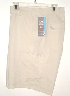 NEW $46 TAG size 42 Cargo Shorts LEE PERFORMANCE Quick Dry Active XL Off-White #LeeDungarees #Athletic  http://www.ebay.com/itm/NEW-46-TAG-size-42-Cargo-Shorts-LEE-PERFORMANCE-Quick-Dry-Active-XL-Off-White-/191791954508?hash=item2ca7b0fa4c