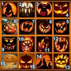B  O  O !!! Citouille Halloween, Halloween Outside, Scary Halloween Pumpkins, Halloween Makeup Looks, Holidays Halloween, Halloween Pumpkin Carving Stencils, Halloween Pumpkin Designs, Pumkin Carving, Pumpkin Carving Patterns
