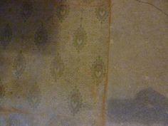 Edwardian linoleum at the Valient Soldier pub Antique Wallpaper, Victorian Homes, 1920s, Restoration, Textiles, Flooring, Interior Design, Rugs, Antiques