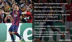 Lionel Messi le footballeur de tous les records - http://www.actusports.fr/125648/lionel-messi-le-footballeur-de-tous-les-records/