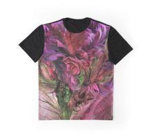 Graphic T-Shirt featuring Wild Flower 3 art by Carol Cavalaris.