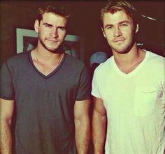 Chris & Liam Hemsworth
