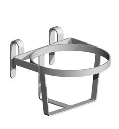 Bucket Holder - Heavy Duty Two types of bucket holders are available and will suit most types of bucket Our light duty version is available in a powder coated finish and the heavy duty version is constructed from thicker material and comes in a galvanised finish.