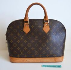Louis Vuitton Monogram Monogram Alma PM Handbag | Lollipuff