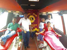 Chennai Triplicane #LionsClub (India) held a blood drive