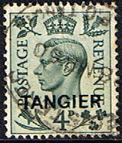 Morocco Agencies TANGIER 1949 SG 264 King George VI Fine Used SG 264 Scott 534 Other british Commonwealth Stamps Here