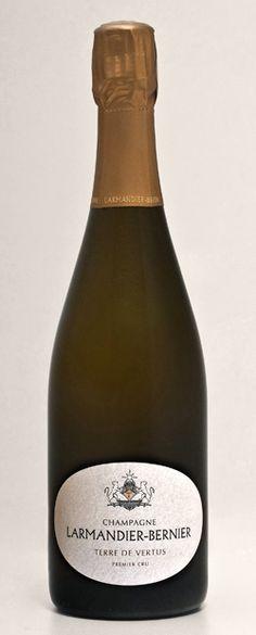 Champagne Larmandier-Bernier - Champagne Né d'une terre de Vertus - non dosé - Premier Cru