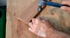 How to Prevent Splitting Wood When Nailing - http://www.homeadditionplus.com/finish-carpentry-info/Preventing_Wood_Splitting_Video.htm