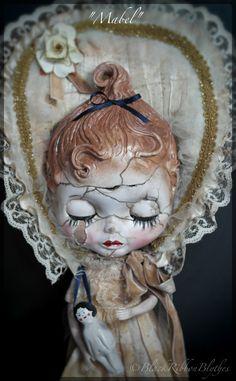 A very Special Custom Blythe Doll Mabel the by BlackribbonBlythes