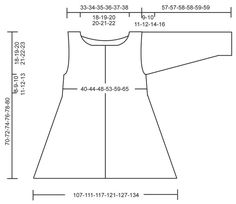 """Knitted DROPS jacket, worked top down with extra width in """"Bomull-Lin"""". Size: S - XXXL. ~ DROPS Design"""