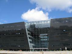 Black Diamond - #Copenhagen #Architecture #Denmark