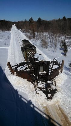Now that's a plow.