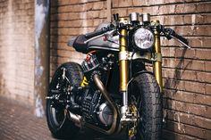 Blacktrack BT-01, uma Café Racer derivada da Honda CX 500   Cafe Rockers ♣