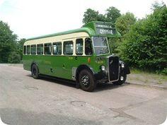 Vintage Bus 767 Crosville Motor Services in Weston-super-Mare for Wedding Hire