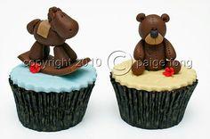 rockinghorse cupcake
