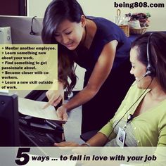 5 ways … to fall in love with your job