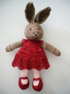 http://www.ravelry.com/projects/elanie/bunny-girl-in-a-dotty-dress-2