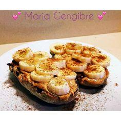 Bom dia... Pão de nozes torrado com manteiga de amendoim Toffee Fudge Crunch da @mws.pt  banana e canela! Tudo no micro para a banana ficar molinha...isto é de ir ao céu! #mariagengibre #pequenoalmoço #breakfast #paodenozes #manteigadeamendoim #banana #canela #cinnamon #healthy #healthyfood #healthylife #healthychoices #healthyliving #healthyfamily #heathygirl #instafit #instafood #instagood #instafamily #instasaudavel #inspiration #motivation #comerbem #coisasboas #comerlimpo #comersaudavel…
